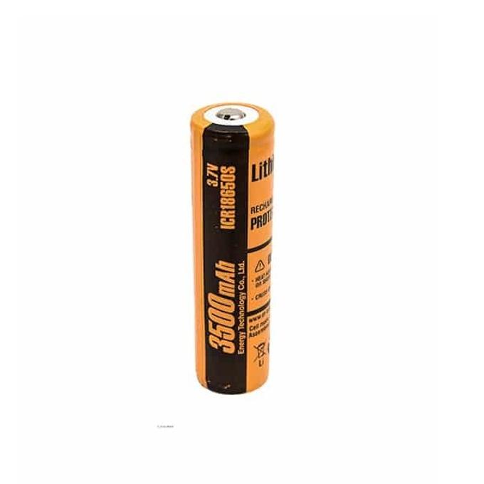 Акумулаторна батерия ICR18650S-PCM, 18650, 3.7V, 3500mAh, Li-Ion, 1 брой image