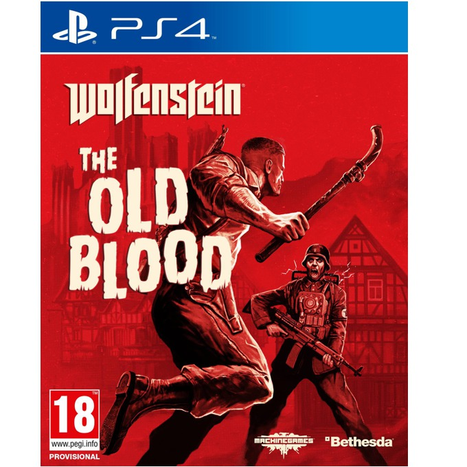 Игра за конзола Wolfenstein: The Old Blood, за PS4 image