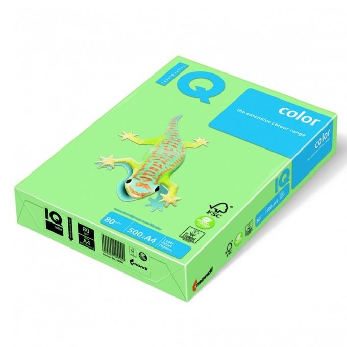 Хартия Mondi IQ Color MG28, A4, 80 g/m2, 500 листа, зелана image