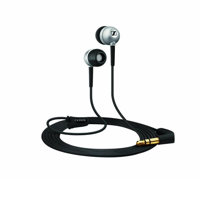 Слушалки Sennheiser CX 300-II Precision, леки и практични, черни image
