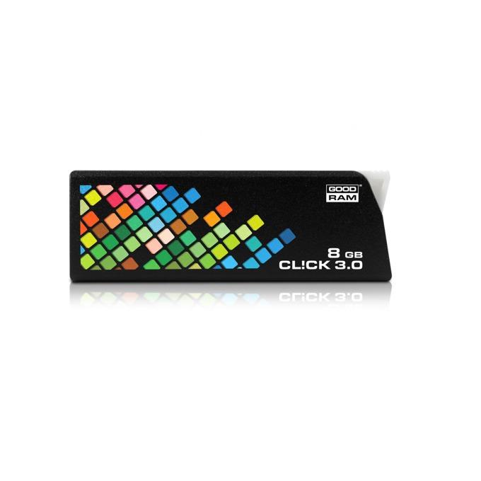 8GB USB Flash Drive, Goodram CL!CK, USB 3.0, черна  image
