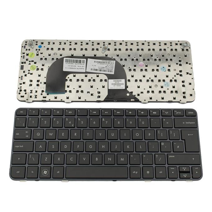 Клавиатура за HP Pavilion DM1-3000/DM1-3200/DM1Z-3000/DM1Z-3200/DM1-4000, UK, с рамка, черна image