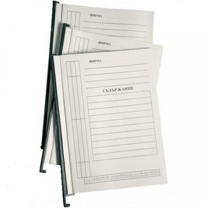 Папка картотека л образна бяла product