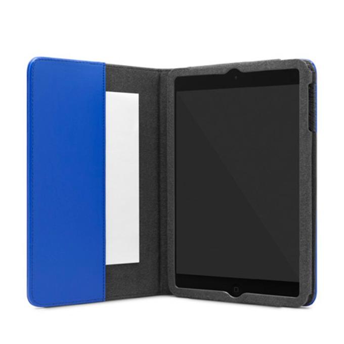 Калъф Incase Folio, кожен, с микрофибърна подплата, за iPad Mini 2/3, син image