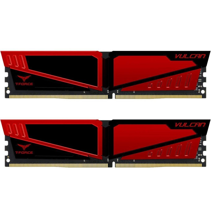 32GB (2x16GB) DDR4 3000MHz, Team Group T-Force Vulcan, TLRED432G3000HC16CDC01, 1.35V image