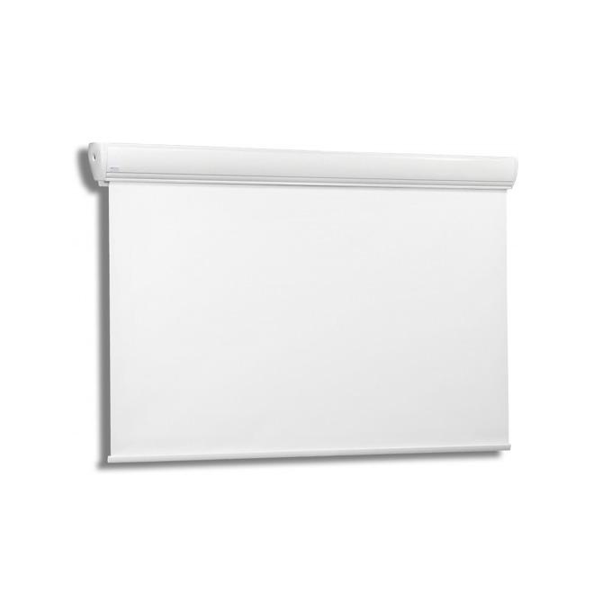 "Екран Avers AKUSTRATUS 2 21-12 MW, стенен/таванен монтаж, Matt White, 210 x 119 см, 90"" (228.6 cm), 16:9 image"