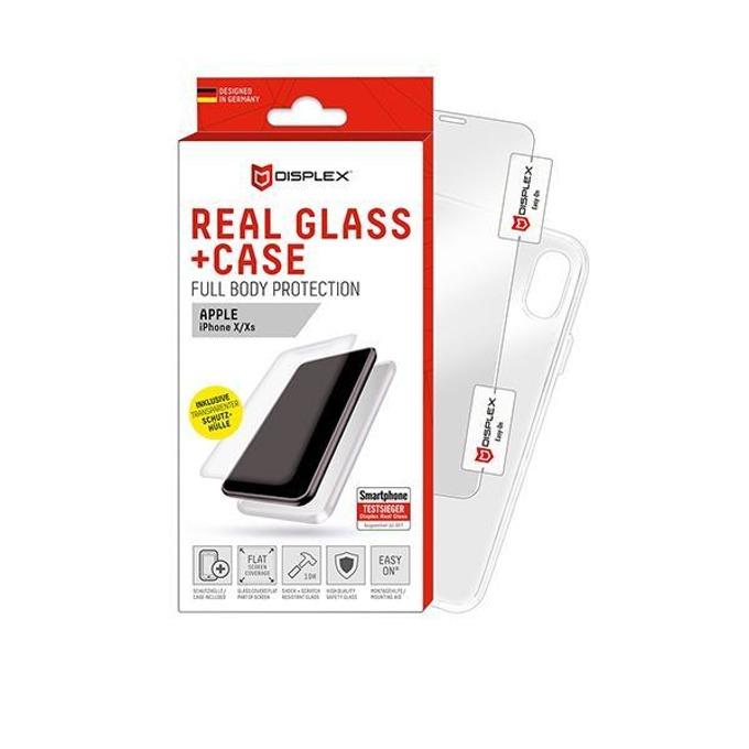 Протектор от закалено стъкло /Tempered Glass/ Displex за Apple iPhone XS/X image
