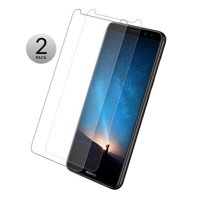 Протектор от закалено стъкло /Tempered Glass/ Eiger Tri Flex High Impact за Huawei Mate 10 Lite, 0.4mm, два броя image