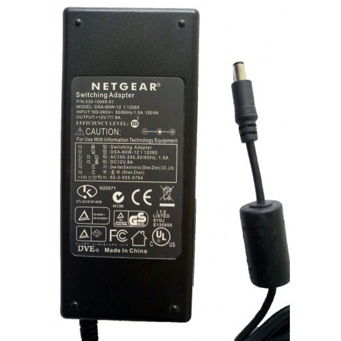 Адаптер NETGEAR 12V/8.0A image