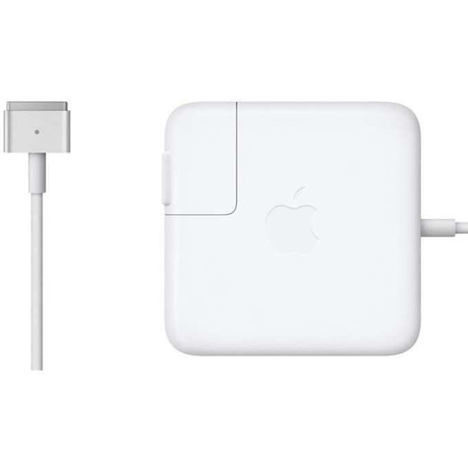 """Захранване (оригинално) за лаптопи Apple Pro Retina Display 13"""", 60W, Magsafe 2, BULK image"""