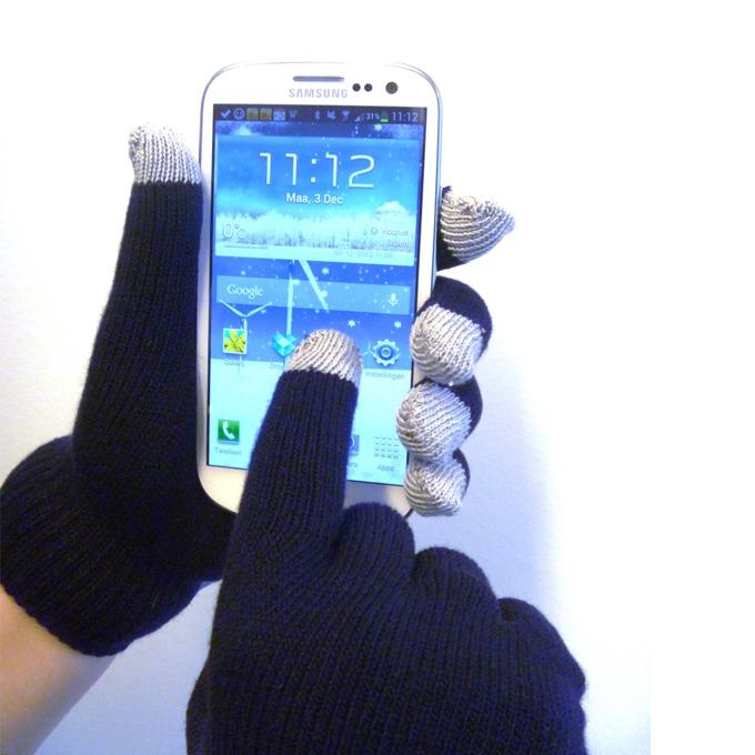 A-Solar Gloves L Black, зимни, черни image