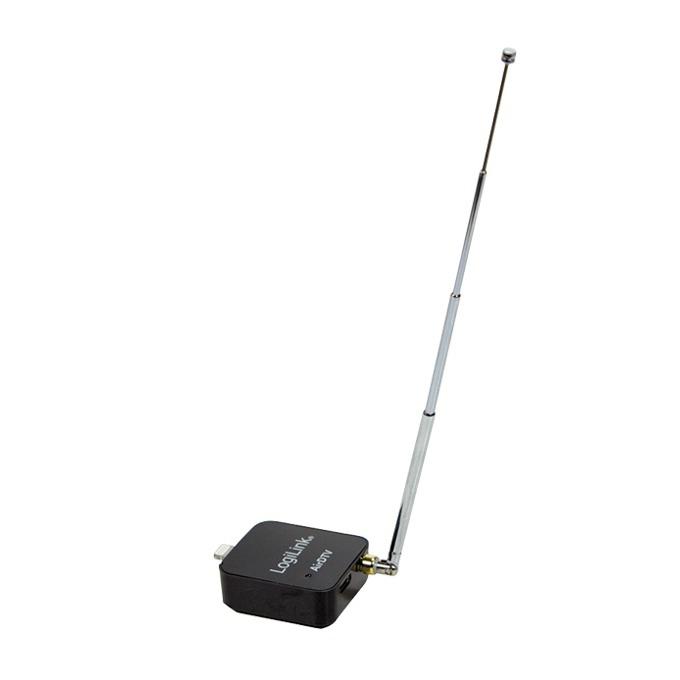 Тунер LogiLink VG0024, за iPhone 5/5s/5c/6/6 Plus/6s/6s Plus, iPad Air/Air 2/mini/mini 2/3/4, iPod, за DVB-T сигнали без интернет image