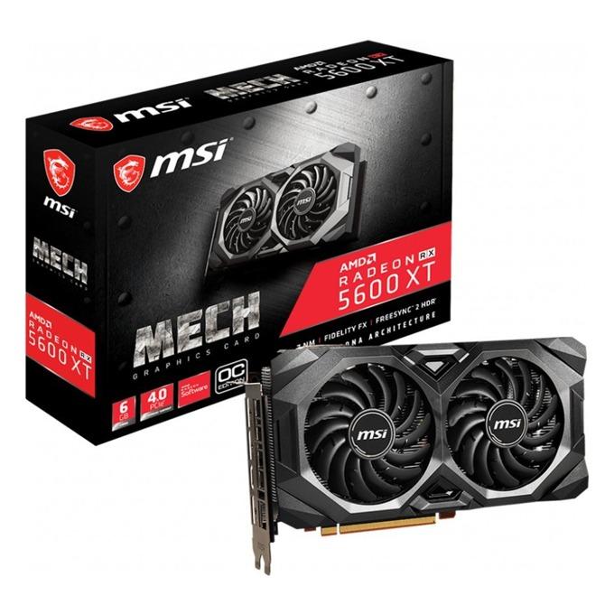 MSI Radeon RX 5600 XT MECH OC GDDR6 6GB