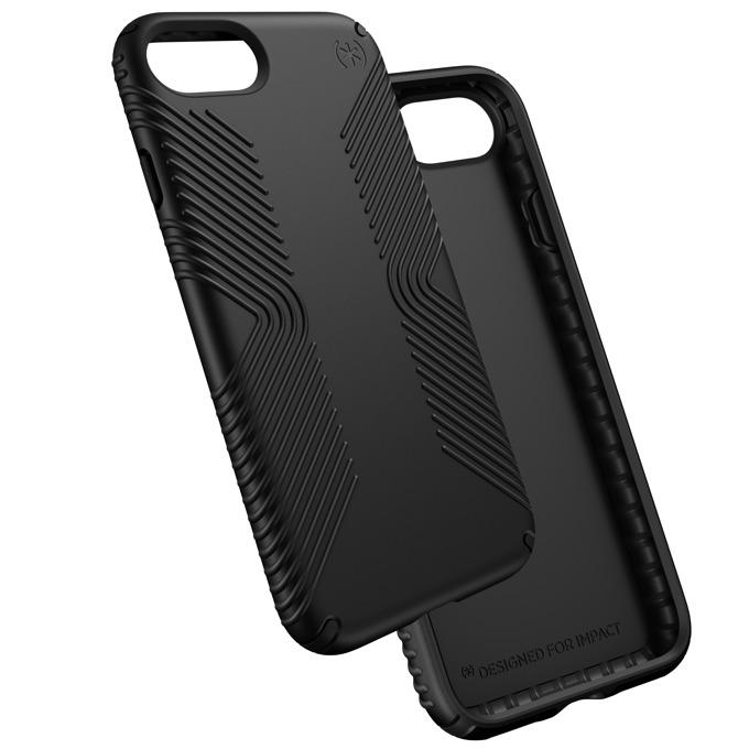Страничен протектор с гръб Speck за iPhone 7, черен image