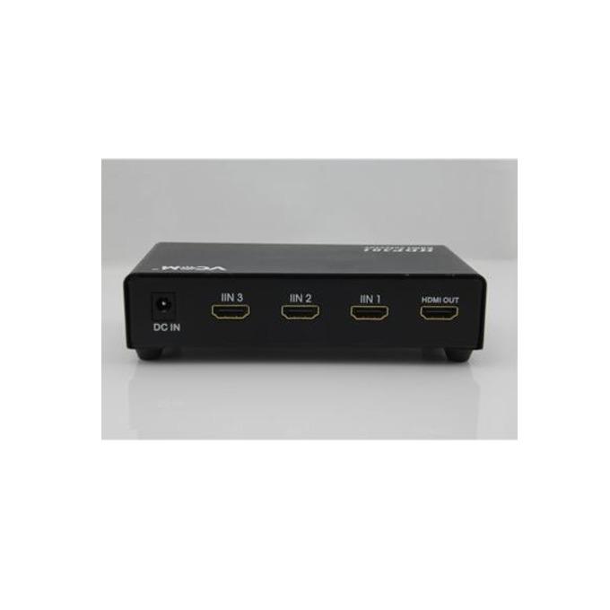 Селектор VCom DD433, 3x HDMI входа към 1x HDMI изход image