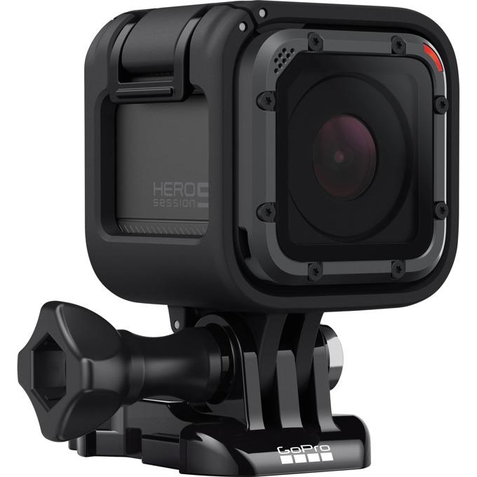 Спортна Екшън камера GoPro HERO5 Session, 4K (30fps), microSD слот, USB (Type-С), Wi-Fi, Bluetooth, 11000mAh lithium-ion батерия image