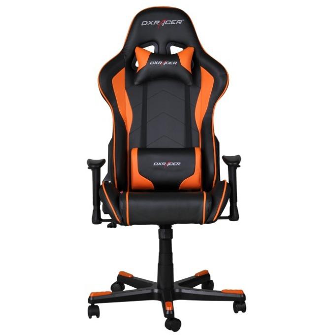 Геймърски стол DXRacer Formula OH/FE08/NO, черен/оранжев image