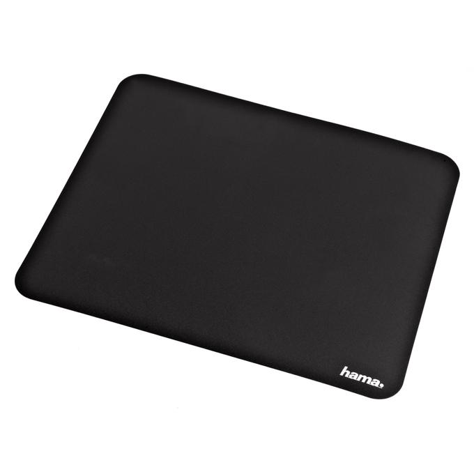 Подложка за мишка HAMA Laser, самозалепваща се, черна, 220 x 180 x 5mm image