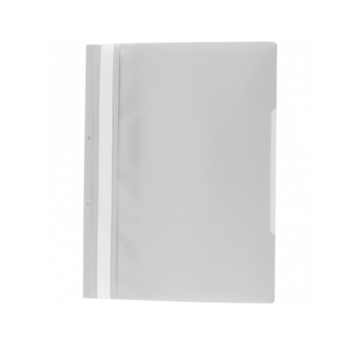 Папка PVC перфорация бяла