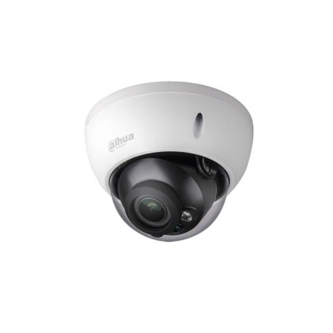 IP камера Dahua IPC-HDBW1420E-0280B, куполна, 4 Mpix(2688x1520@20FPS), 2.8 mm обектив, H.264+/H.264, IR осветеност (до 30 метра), PoE, вандалоустойчива IK10, IP67 защита от вода, RJ-45 image