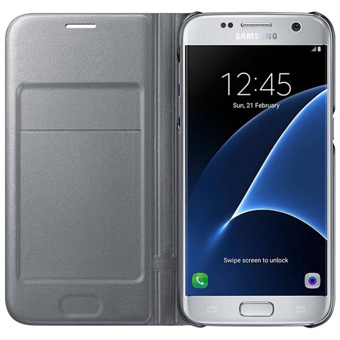 Samsung Flip Case Leather LED EF-NG930PSEGWW