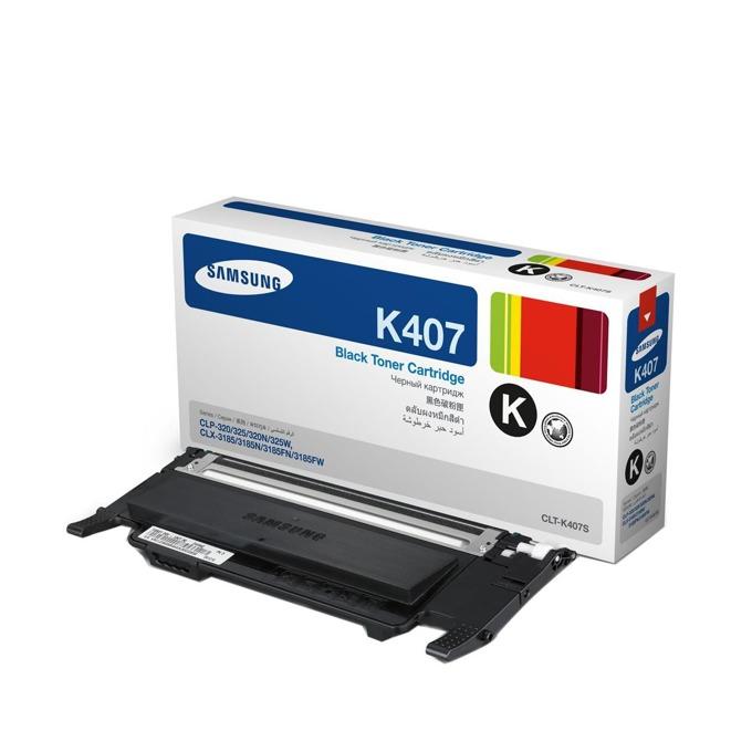 КАСЕТА ЗА SAMSUNG CLP320/320N/325/CLX 3185 - Black - P№ CLT-K4072S - заб.: 1500k image