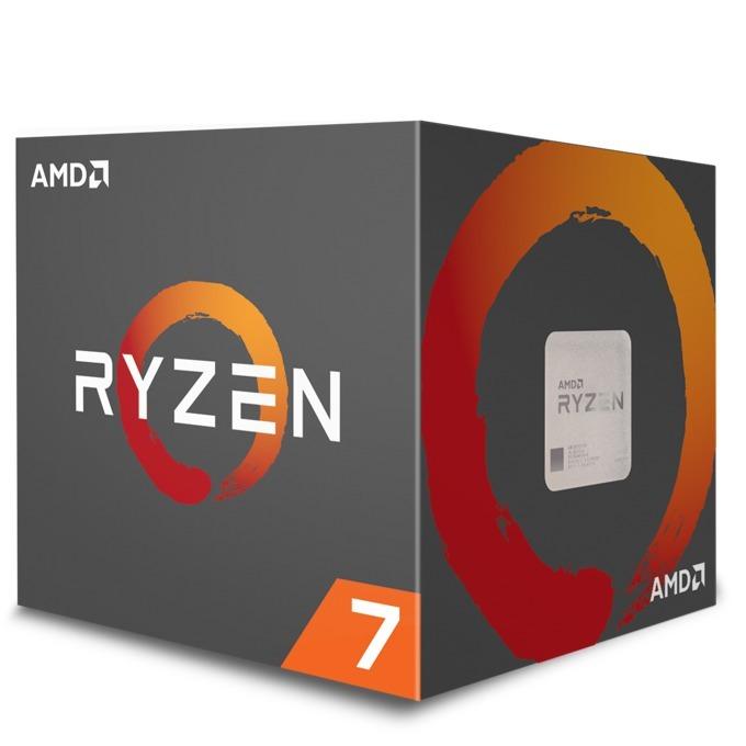Процесор AMD Ryzen 7 1700 осемядрен (3.0/3.7Ghz, 4MB L2/16MB L3 Cache, AM4) BOX, с охлаждане Wraith Spire image