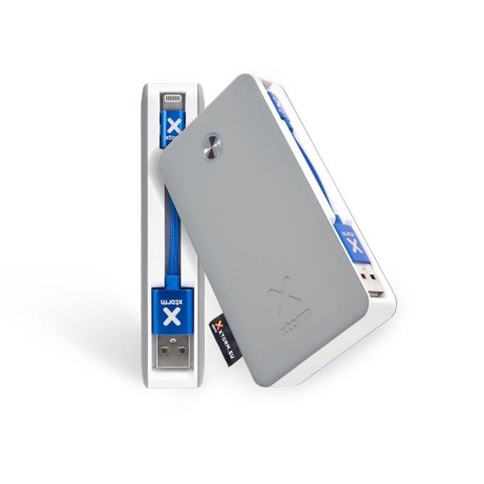 Външна батерия/power bank/ A-solar Xtorm XB200L, 6700mAh, сива image
