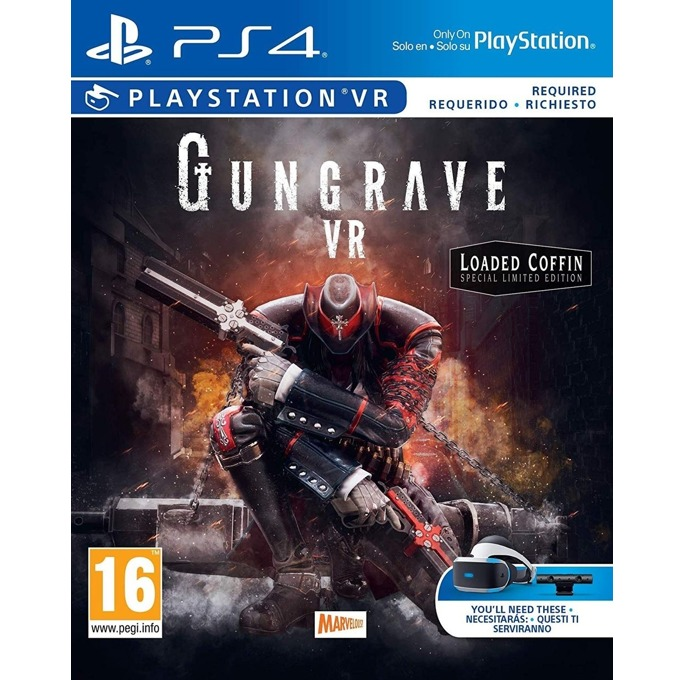 Gungrave VR: Loaded Coffin Edition (PS4 VR) product