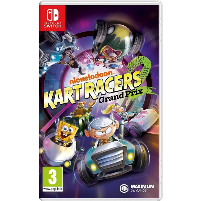 Nickelodeon Kart Racers 2: Grand Prix Switch product