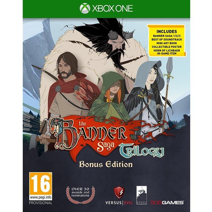 Игра за конзола The Banner Saga Trilogy Bonus Edition, за Xbox One image