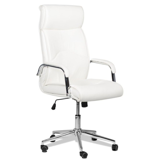 Директорски стол Carmen 6050, бял image