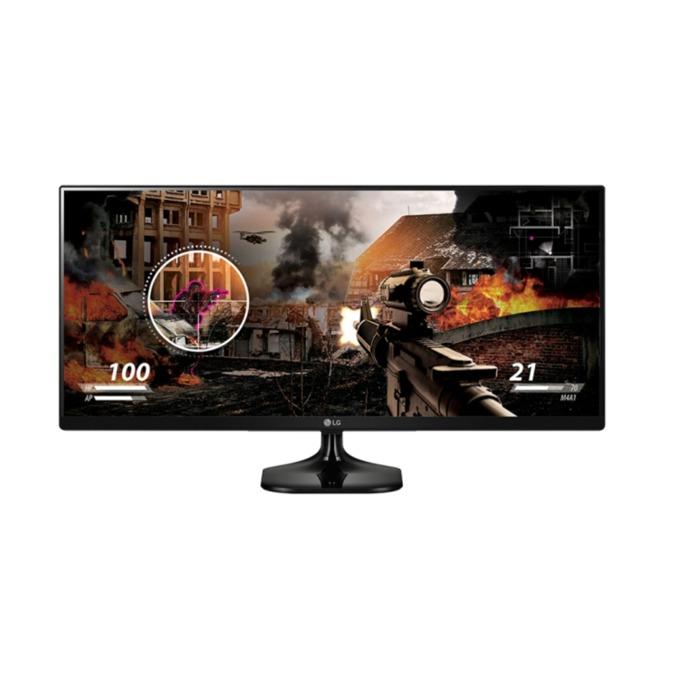 """Монитор 34""""(86.36 cm) LG 34UM58, IPS панел, UWHD, 5ms, 5 000 000:1, 250cd/m2, HDMI image"""