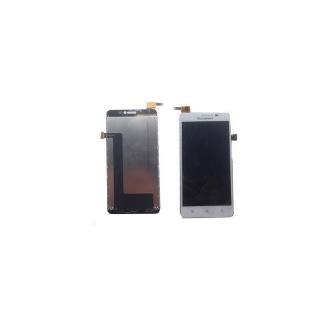 Дисплей за Lenovo S850, LCD with touch, бял image
