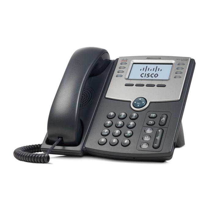 VoIP Телефон, Cisco SPA508G, 8 Line, PoE and PC Port image