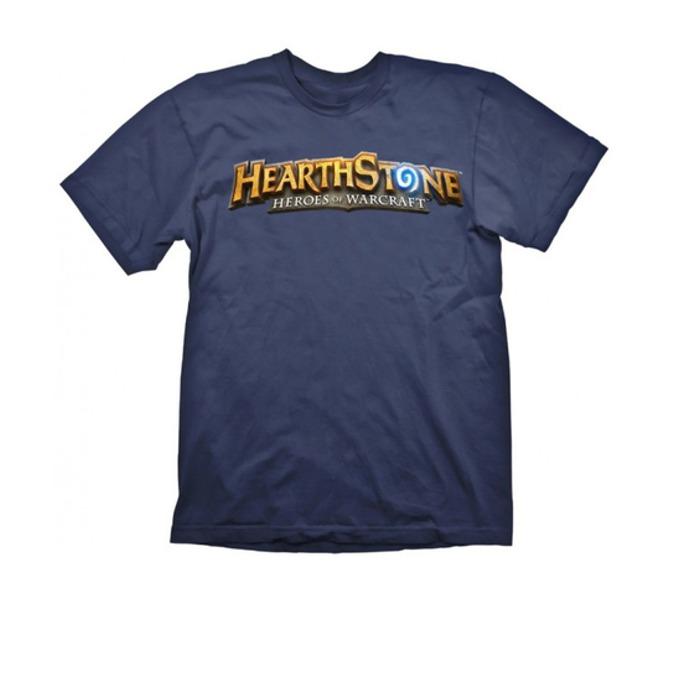 Тениска Hearthstone Logo Navy, Size L image
