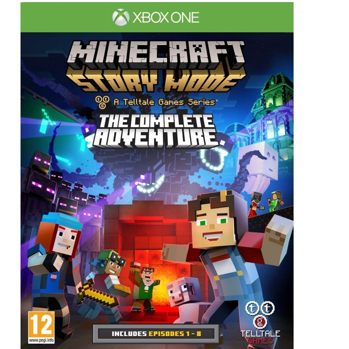 Minecraft: Story Mode - The Complete Adventure, за Xbox One image