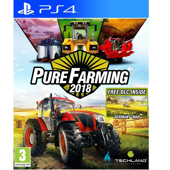 Pure Farming 2018, за PS4 image