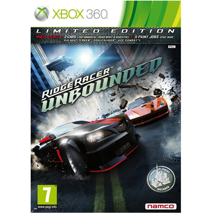 Ridge Racer Unbounded: Limited Edition, за XBOX360 image