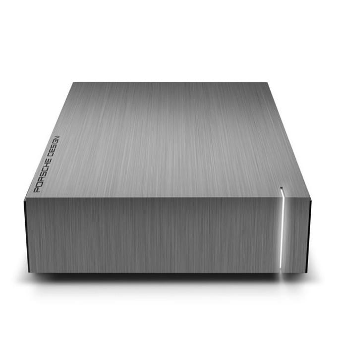 """Твърд диск 4TB LaCie Porsche Design Desktop Drive (сив), външен, 3.5"""" (8.89 cm), USB 3.0 image"""