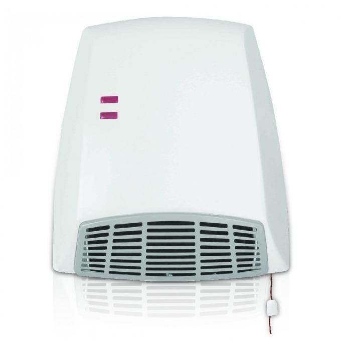 Вентилаторна печка за баня Sapir SP 1970 U, 2 степени, oтопление/oхлаждане, 2000W, бяла  image