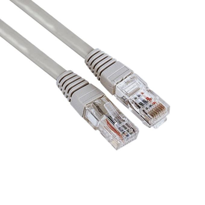 Пач кабел Hama, UTP, CAT 5e, 3m, сив image