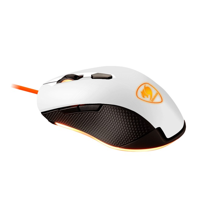 Мишка Cougar Gaming Minos X3, оптична (3200 dpi), USB, бяла, 3 zone backlight image