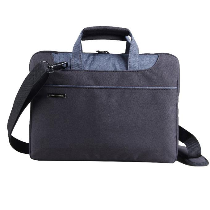 "Чанта за лаптоп Kingsons Concord Series (KS3093W-BB) за лаптопи до 13.3""(33.78 cm), черна image"