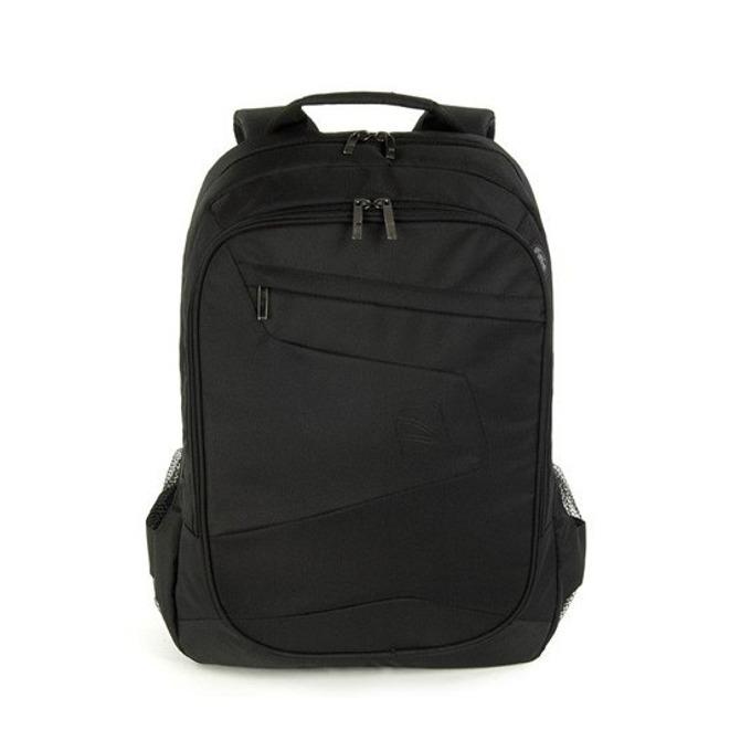 """Раница за лаптоп TUCANO BLABK Lato, до 17"""" (43.18 cm), полиестер, Air Mesh система, черна image"""