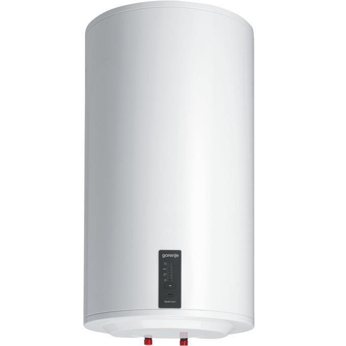 Електрически бойлер Gorenje GBF 80SMC6, 76.1л., вертикален, 2 kW, емайлирана стомана, клас C, 45.4 × 82.9 × 46.1 cm, 2 нагревателя, Smart функция, двойна антикорозионна защита, бял image