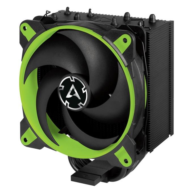 Охладител за процесор Arctic 34 eSports Green ACFRE00059A, съвместимост със сокети LGA2066/2011-3/2011-0/1151/1150/1155/1156 & AM4 image