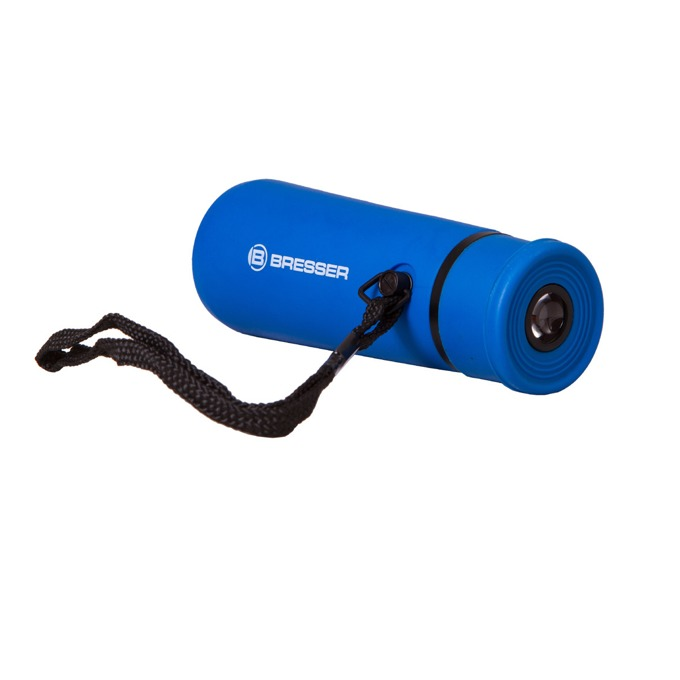 Монокъл Bresser Topas 10x25, 10x оптично увеличение, 25мм апертура, гумиран, син image