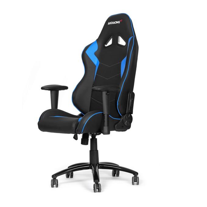 Геймърски стол AKRACING Octane Blue, черно-син image