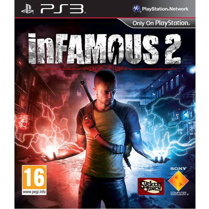 Игра за конзола InFAMOUS 2, за PlayStation 3 image